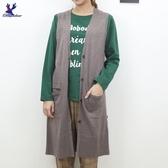 【秋冬新品】American Bluedeer - 長版針織背心 二色