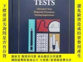 二手書博民逛書店英文原版書罕見DIAGNOSTIC TESTS(大32開精裝本)Y249948 英文 英文