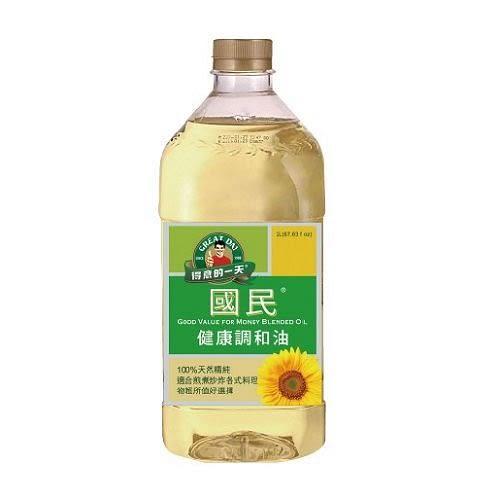 桂格得意的一天國民健康調和油2L【愛買】