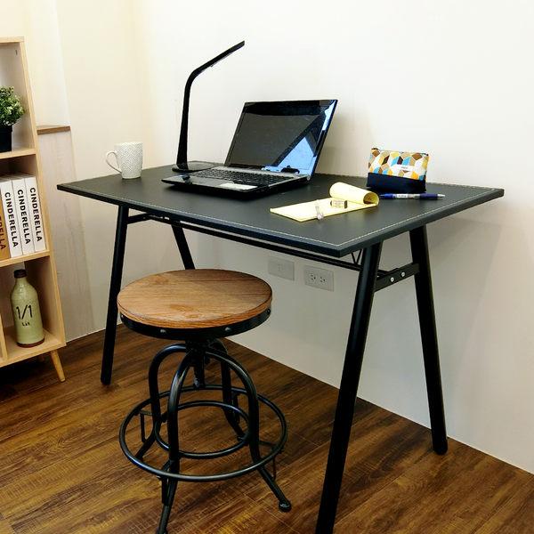 (特賣)電腦桌 辦公桌 書桌【DCA009】環保粗管120公分仿馬鞍A型大桌面工作桌 Amos 台灣製