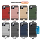 適用於Iphone 11Pro 拉絲插卡三星Note10,S10,S10+防摔殼蘋果11系列