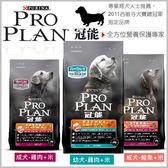 *KING WANG*冠能PRO PLAN-幼犬/ 成犬/ 羊肉/ 鮭魚配方-1.5kg/小型挑嘴犬1.3kg