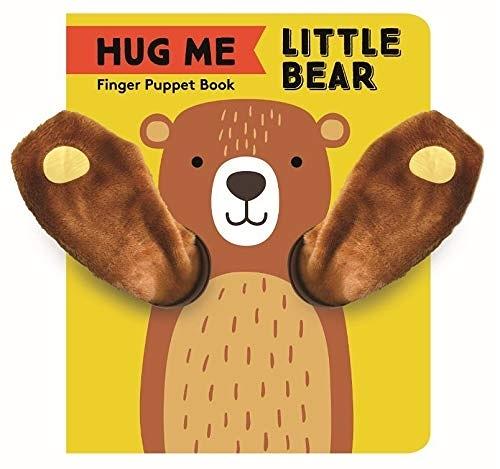 Finger Puppet Book:Little Bear 抱抱小熊指偶書