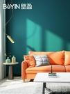 墻貼紙 現代簡約純色無縫全屋羊絨素色墻布臥室客廳壁布北歐式高檔墻壁紙【快速出貨】