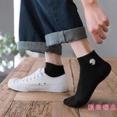 10雙|襪子女短襪淺口薄款船襪小雛菊中筒全棉素色【匯美優品】