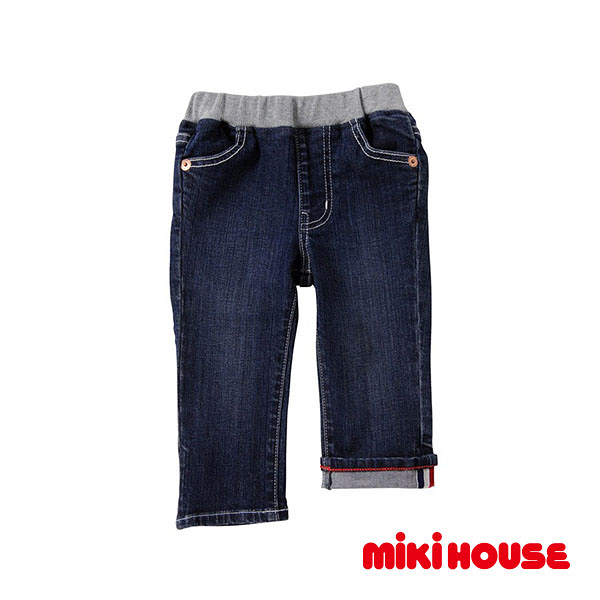 MIKI HOUSE Every day牛仔長褲