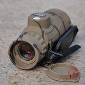 YD軍MD842C單筒望遠鏡 防水防霧用微光夜視 帶羅盤分劃板便攜高清NMS小明同學