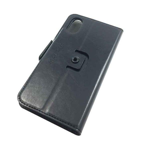 Moxie X-Shell 360° iPhone X / 摩新360度旋轉iPhone X 防電磁波手機套 皮套 黑