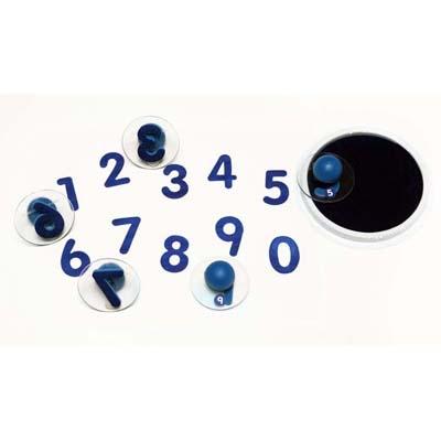 【華森葳兒童教玩具】美育教具系列-認識數字大印章 L4-CE6732