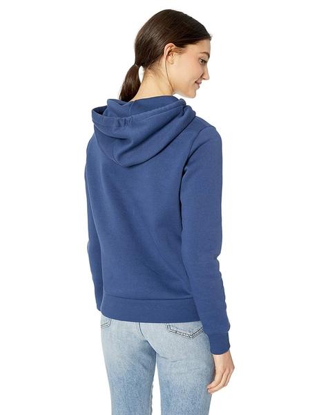 CONVERSE 女款連帽T 藍 NO.10008819-A02