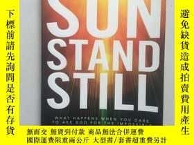 二手書博民逛書店SUN罕見STAND STILL(16開平裝本,行貨 )Y171