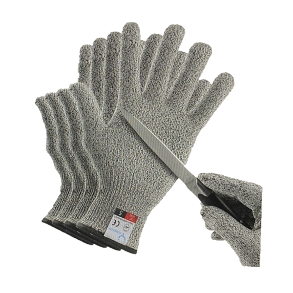 [9美國直購] YINENN 兒童用防割手套 兩副 XXS Food Grade Level 5 Hand Protection,Kitchen Cut Gloves