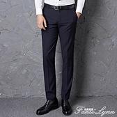 西裝褲 西褲男士修身薄款黑色夏季直筒西裝褲工裝職業商務褲休閒男裝正裝 范思蓮思