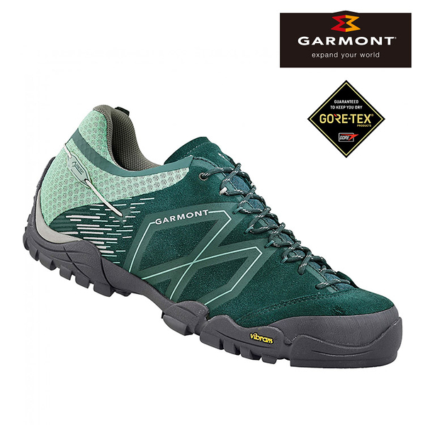 GARMONT 女款 Gore-Tex低筒健行鞋STICKY STONE WMS 481015/613 / 城市綠洲 (防水透氣、黃金大底、登山攀登)