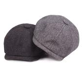 報童帽-復古英倫學院風棉質男女鴨舌帽3色73tv23【時尚巴黎】