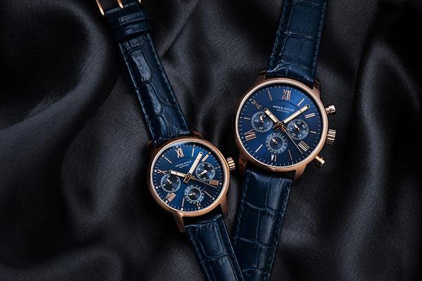 ★Aries Gold★-雅力士手錶-KENSINGTON-L 103 RG-BU-錶現精品公司-原廠公司貨