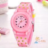 兒童手錶兒童手錶女孩男孩防水夜光小學生手錶少女童正韓時尚正韓石英手錶