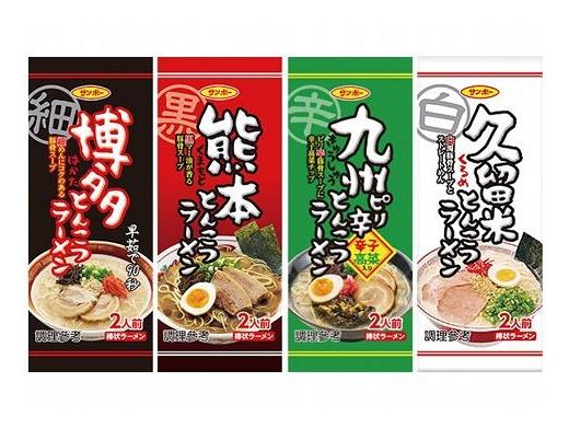 【任3件$199】日本 Sanpo 三寶棒狀 博多/熊本/九州/久留米 豚骨風味拉麵(1包入) 款式可選