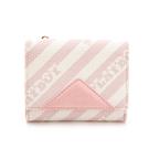 PLAYBOY- 名片夾附零錢袋 粉潮流系列 -粉色