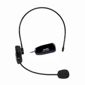 2.4G無線麥克風小蜜蜂教師擴音器耳麥舞台演出音響藍芽頭戴式話筒· 3C公社
