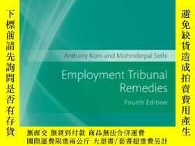 二手書博民逛書店Employment罕見Tribunal Remedies 20