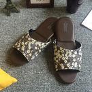 品味系列-橡膠抗滑室內拖鞋-豐華-梅花輕...