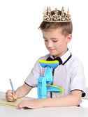 學生用兒童幼兒園寫字護眼支架下巴托寫作業儀架糾正書寫姿勢視力保護器 艾維朵