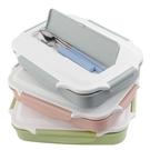 便當盒304不銹鋼分格保溫飯盒可愛方形便當盒午餐盒學生成人單層1保溫盒