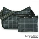 LeSportsac - Standard側背水餃包/流浪包-附化妝包 (冬季格紋) 7520P F520