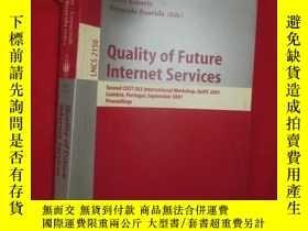 二手書博民逛書店Quality罕見of Future Internet Serv