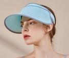 帽子 帽子女夏季遮陽時尚潮防曬太陽帽夏天涼帽防紫外線遮臉大沿
