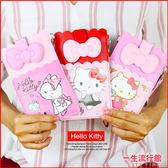 《5.5吋》Hello Kitty 凱蒂貓 美樂蒂 iphone 6s plus 皮質花邊手機袋 手機包 手機殼 手腕帶 A03081