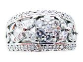 【特價38%OFF】JEWELRY 鑽石戒指 PT900 D0.78ct 【BRAND OFF】