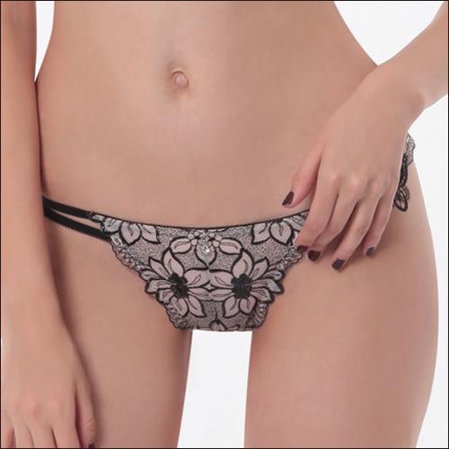 LADY 奢迷閃耀系列 低腰丁字褲(柔燦膚)
