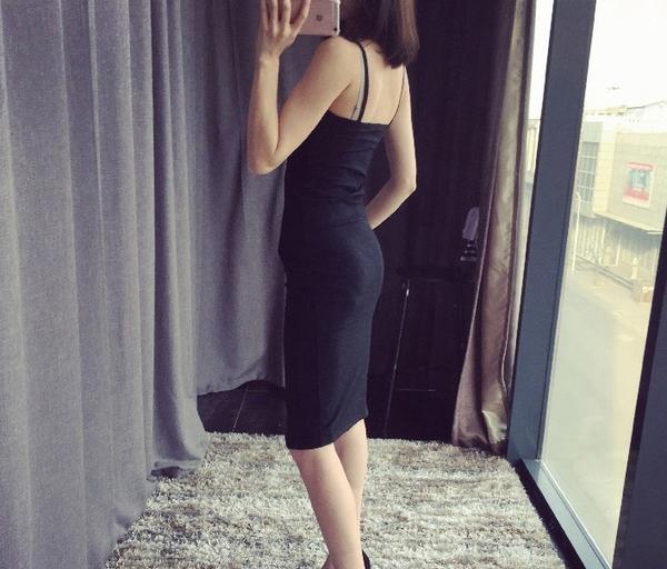 吊帶裙 夏日海島度假側開岔修身包臀背心連身裙 艾爾莎【TGK3659】