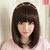 假髮女短發直發齊劉海發套女生蓬鬆帥氣波波BOBO頭髮可愛韓國髮型