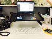 筆記本支架電腦床上手提摺疊桌面懶人電腦桌支架桌帶風扇散熱器限時八九折