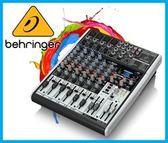 【小麥老師樂器館】Behringer 耳朵牌 XENYX X1204USB 8軌 數位效果 混音器 效果器