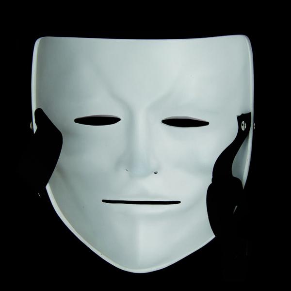 樹脂v字仇殺隊面具v字怪客影視白色面具電影主題化妝舞會面具成人 星河光年
