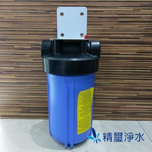 Z.全戶過濾淨水器:10吋大胖單道水塔濾水器組-不銹鋼吊掛型 (含安裝)