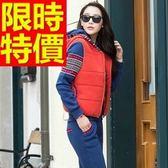 運動服套裝三件式熱銷優質-溫暖正韓長袖純棉女休閒服6色63s31【時尚巴黎】