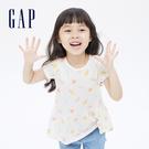 Gap女幼童 布萊納系列 可愛印花短袖上衣 689392-冰淇淋印花