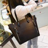 機車包 包包女潮韓版大包包女包簡約手提包女士單肩包百搭斜挎包  瑪麗蘇