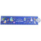 KAMIO 透明塑膠折疊尺附量角器 30cm 直尺 量尺 迪士尼 玩具總動員4 主題樂園_KM17390