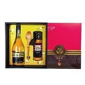 【復刻經典】極品臻藏醋蜜禮盒-特產蜂蜜425g(1瓶)+蜂蜜醋600ml(1瓶),特惠88折【養蜂人家】