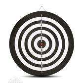 雙面飛鏢靶專業飛鏢盤套裝15寸18寸成人兒童娛樂磁鐵飛鏢植絨硬質 中秋節特惠下殺igo