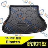 【一吉】12-16年 舊款 Elantra 防水托盤 /EVA材質/ elantra 防水托盤 elantra後車廂墊 elantra車廂墊