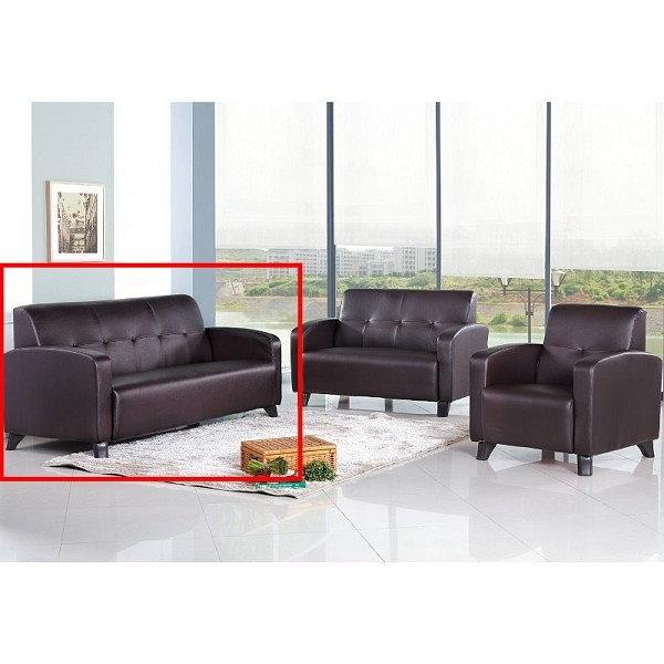 沙發 PK-278-9 三咖啡沙發三人椅【大眾家居舘】