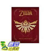 [106 美國直購] 薩爾達傳說 The Legend of Zelda: Art & Artifacts Hardcover
