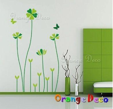 壁貼【橘果設計】醡漿草 DIY組合壁貼/牆貼/壁紙/客廳臥室浴室幼稚園室內設計裝潢